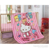 Hello Kitty Bebek İspanyol Battaniye Bear