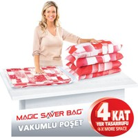 Magic Vakumlu Poşet Hurç 55X90 Cm.(Xl) 2'Li