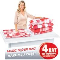 Magic Vakumlu Poşet Hurç 80X100 Cm.(Xxl) 2'Li