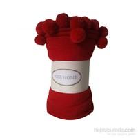 Giz Home Carmel Koltuk Örtüsü 130X170 Kırmızı