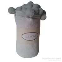 Giz Home Carmel Koltuk Örtüsü 130X170 Beyaz