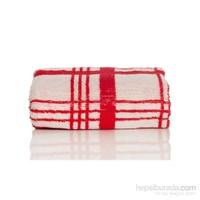 Yastıkminder Koton Kırmızı Beyaz 50X70 Havlu