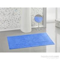 Varol Kaymaz Taban Banyo Paspası - Mavi