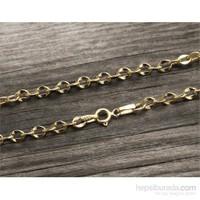 eJOYA 14 Ayar Altın Bileklik Zinciri Zn0080m