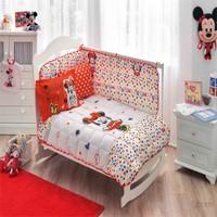 Taç Lisanslı Disney Minnie Skecth Bebek Tek Kişilik Ranforce Uyku Seti