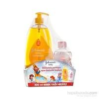 Johnsons Baby 3'Lü Bebek Koruması 750 Ml Şampuan + Bebek Yağı 200 Ml