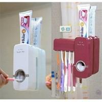 Kaixin Otomatik Diş Macunu Sıkacağı Ve 5 Adet Diş Fırçalığı