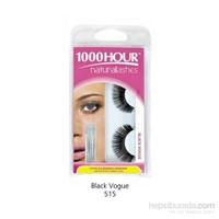1000 Hour Doğal Takma Kirpik - Black Vogue
