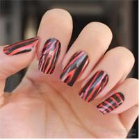 Nailuty Kuru Oje Kırmızı Zebra