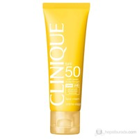 Clinique Sun Spf 50 50 Ml Yüz için Güneş Koruma Kremi