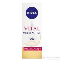 Nivea Vital Soya Yaşlanma Karşıtı & Leke Giderici Göz Bakım Kremi 15Ml