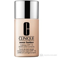 Clinique Even Better Makeup Fondöten Spf 15 Renk: Vanilla