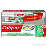 Colgate Diş Macunu 1+1 Total Profesyonel Nefes Sağlığı 75Ml