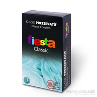 Fiesta Classic 12'li Klasik İthal Prezervatif