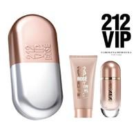 Carolina Herrera 212 VIP Rose Edp 80 Ml Kadın Parfüm Set
