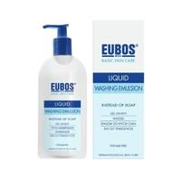 Eubos Sıvı Cilt Temizleyici Parfümsüz Mavi 400 ml.