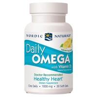 Nordic Naturals Daily Omega+Vitamin D3 30 Soft Gel