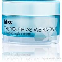 Bliss The Youth As We Know İt Night Cream - Anti-Aging Etkili Gece Kremi