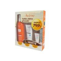 Avene Spray Spf50 Plus 200Ml Kofre - İz Bırakmayan Güneş Koruyucu Sprey Hediyeli Set