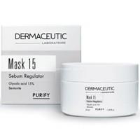 Dermaceutic Mask 15 Oil Reducing Mask 50 Ml - Yağlı Ve Akneli Cilt Kil Maskesi