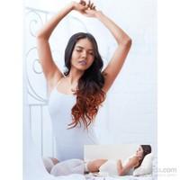 Miorre İnce Askı Çıtçıtlı Body Kadın Beyaz
