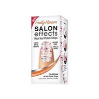 Sally Hansen Salon Effects - Gerçek Ojeden Yapılan Desenli Tırnak Bantları - Love Always 4422-01