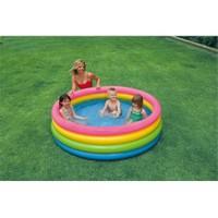 İntex 4 Halkalı Renkli Büyük Boy Çocuk Havuzu (168 Cm x 46 Cm)