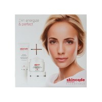 Skincode Essentials Kofre - 24h Cell Energizer Cream 50ml ve Advanced Skin Perfector 30ml Seti