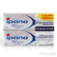 Ipana 3 Boyutlu Beyazlık Luxe Diş Macunu Perfection 75 ml (1 Alana 1 Bedava Paketi)