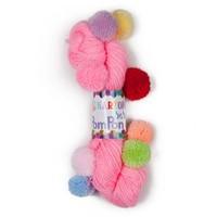 Kartopu Bebe Pompon Pembe Bebek Yünü - K801
