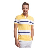 U.S. Polo Assn. G081gl011.000.70480.Sr0135 Polo Yaka Sarı T-Shirt