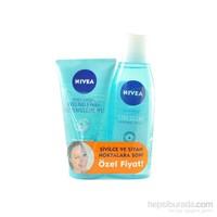 Nivea Pure Effect Arındırıcı Tonik + Yüz Temizleme Jeli