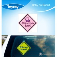 MYCey Baby on Board Princess (İngilizce)