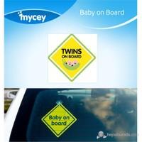 MYCey Baby on Board Twins (İngilizce)