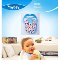 MYCey Bebe Önlüğü - 2 Parça Set - Mavi (700004)
