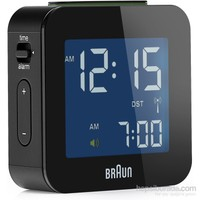 Braun Alarmlı Dijital Masa Saati Siyah-BNC008BK