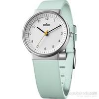 Braun Deri Klasik Kadın Kol Saati Yeşil-BN0031WHTQL