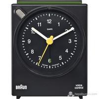 Braun Alarmlı Masa Saati Siyah -Bnc004bkbk