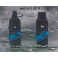 Dunlop Black Mavi Edt 125Ml + 150Ml Deodorant - Erkek Parfüm Set