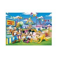 Clementoni Puzzle Mickey Lunapark (60 Parça,Maxi)