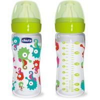 Chicco Sağlıklı Beslenme PP. 250ML Silikon Akış Ayarlı Biberon 2 m+ %0 BPA (İronik)