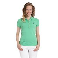 U.S. Polo Assn. Kadın Yeşil T-Shirt