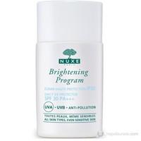 Nuxe Brightening Program Ecran Haute Protection Spf 30 - Koruyucu Yüz Bakım Kremi 30Ml.