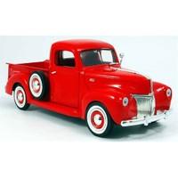 Motormax 1:18 1940 Ford Pickup -Kırmızı - Model Araba
