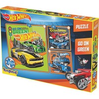 Kırkpabuc Hot Wheels Go On Green Puzzle