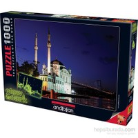 Anatolian Ortaköy Glow In Dark Neon 1000 Parça Puzzle