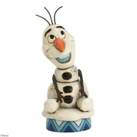 Disney Traditions Enesco Silly Snowman Olay Figurine