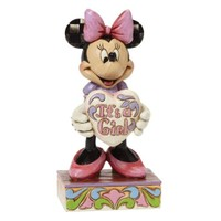 Disney Traditions Enesco Minnie Mouse Its A Girl Figure