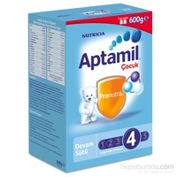 Aptamil 4 Çocuk Devam Sütü 600 gr