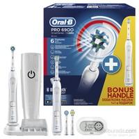 Oral-B SmartSeries Pro 6900 Şarj Edilebilir Diş Fırçası 2'li Avantaj Paketi